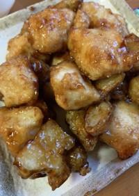 菊芋と鶏肉のさっぱり系