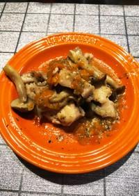 塩麹とチーズの旨旨鶏モモ焼き