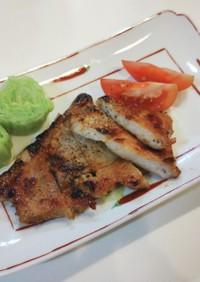作り置き下味冷凍☆豚厚切り肉酒粕漬け