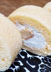 レモン味のロールケーキ
