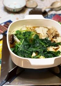 簡単♡キノコ鍋