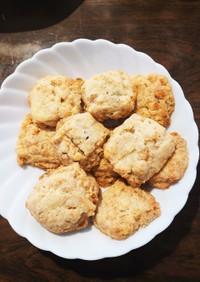 蜂蜜フルグラ&チーズなダイスクッキー♡