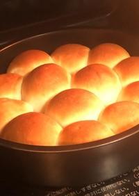丸型でちぎりパン!