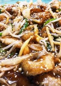 Leeシェフの筍と豚肉の中華炒め