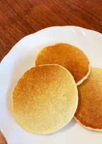 【離乳食後期】砂糖不使用の米粉パンケーキ