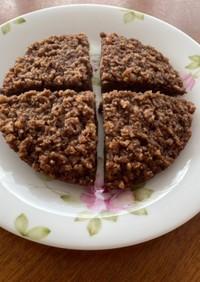パン粉でチョコレートケーキ!炊飯器使用♪