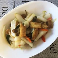 鍋物の残り野菜deピリ辛炒め♪