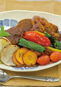 野菜たっぷりカレーライス