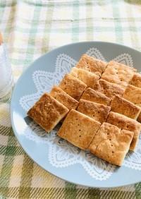 ホットケーキミックスで簡単♪塩クッキー