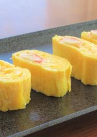 かにかまとチーズの卵焼き