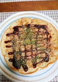 美味!白菜のお好み焼きo(^o^)o
