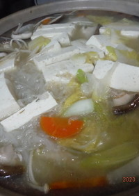 簡単!九州味噌で作るあったか味噌鍋