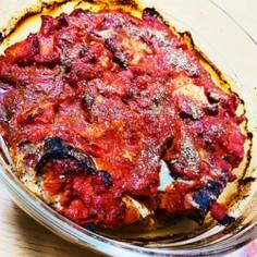 鰤かまのトマト焼き