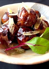 鶏団子 黒砂糖バルサミコ酢 おせち 弁当
