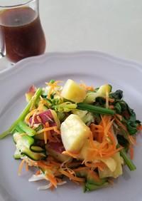 超簡単!オシャレな温野菜サラダ