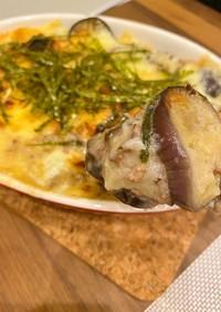 ホワイトソースいらずの長芋で簡単グラタン
