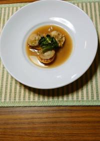 ヨウサマの減塩ホタテの中華煮
