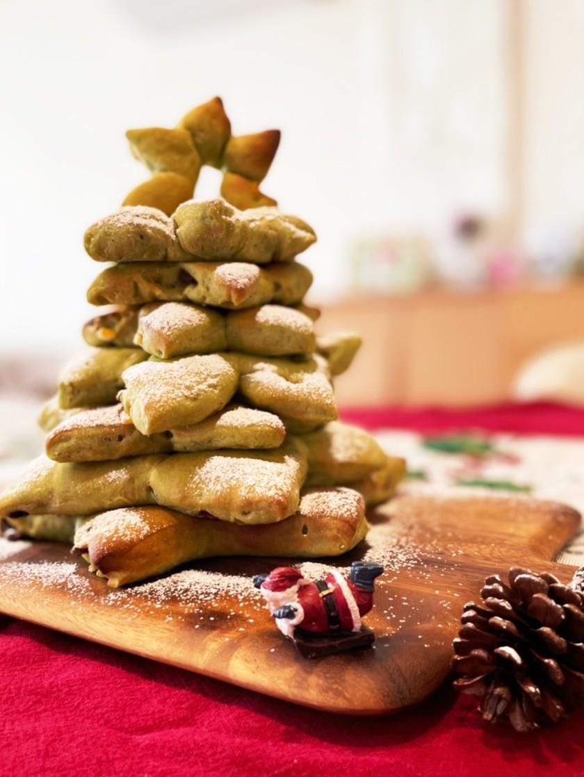 クリスマスツリーパン