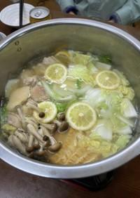 《簡単》エスニック風塩麹レモン鍋の素