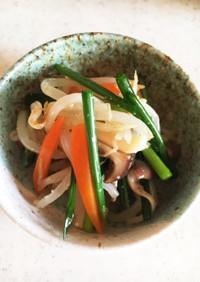 シャキシャキ野菜の和風ナムル