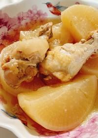 鶏手羽元と大根の塩煮♡圧力鍋