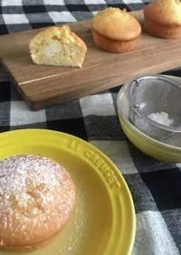 簡単 レモンとクリームチーズのマフィン