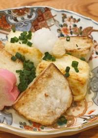 里芋と豆腐の揚げ出し[本みりん&白だし]