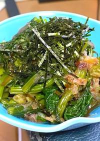 小松菜の和風ナムル(おひたし?)