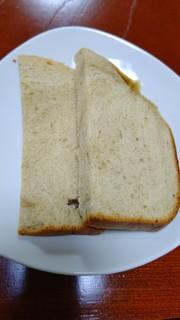 きなこバナナ食パンの写真