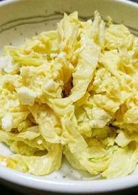 キャベツと玉子のサラダ