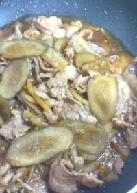 豚肉のしぐれ煮