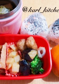 簡単夕食スープジャー弁当覚書
