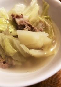 コンビーフのスープ