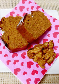 ブラウンシュガーのパウンドケーキ
