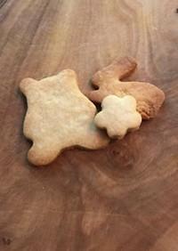 娘も大好き、きな粉クッキー。