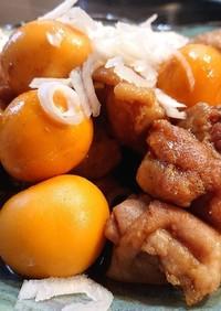 鶏のキンカン甘辛煮