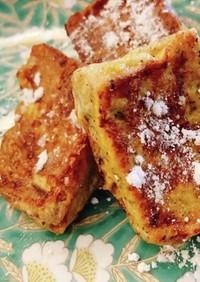 冷凍食パンで簡単フレンチトースト
