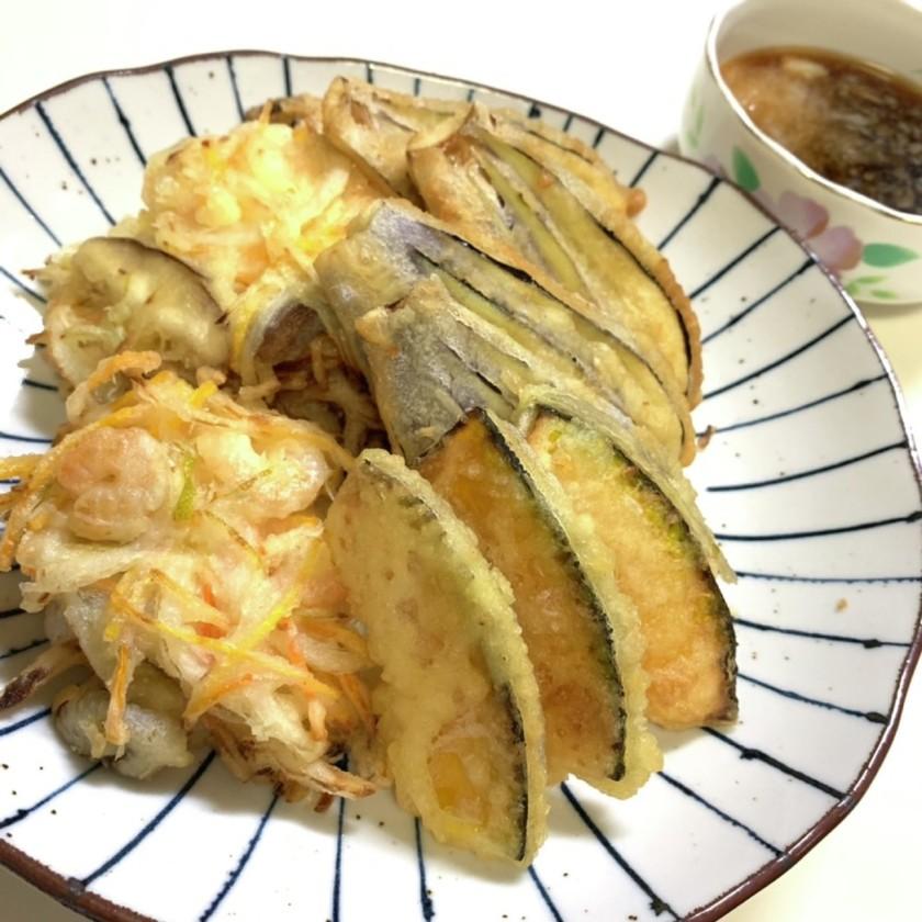 丸ごとレモンのさっぱり天ぷら