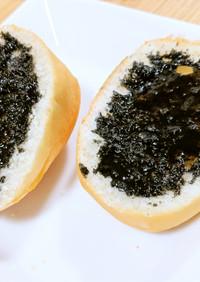 栄養たっぷり!黒ゴマ&黒蜜添えトースト