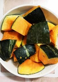 冷凍ストック☆かぼちゃの冷凍庫保存法