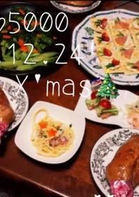 2015年 クリスマス パーティ料理