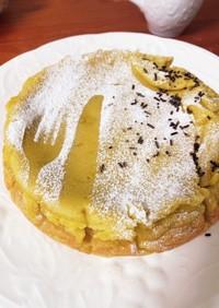 スイートポテトケーキ 粉なし 簡単