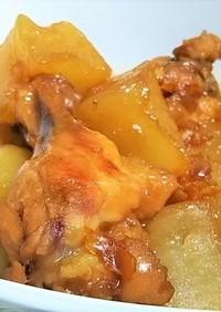 簡単計量☆鶏手羽元と大根のママレード煮