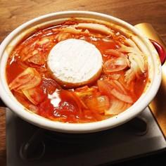 トマトミルフィーユ鍋~カマンベール添え~