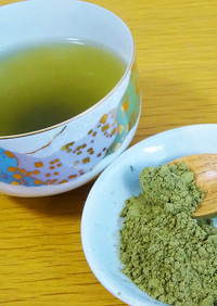 【どくだみ茶】粉末茶の作り方・淹れ方