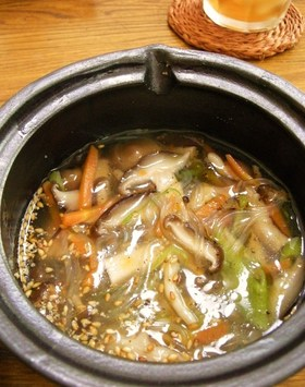 野菜と春雨☆中華スープ