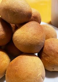 小麦香る♫ 全粒粉の丸パン