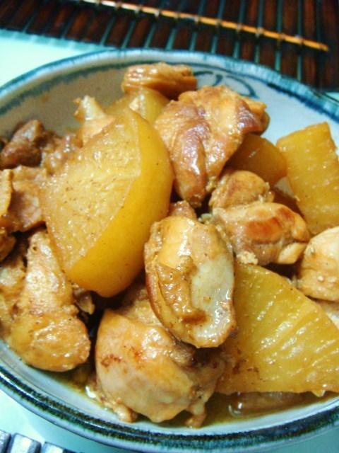 鶏と大根のコクうま煮