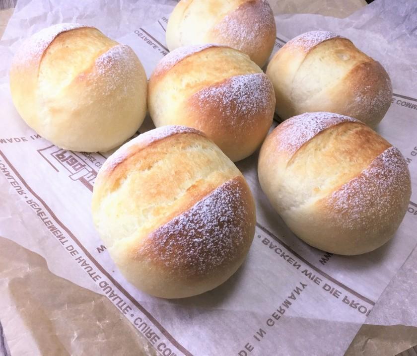 ポリ袋deふわふわもっちり食事パン♪
