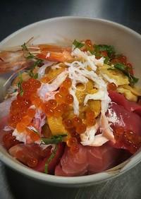 皆の好きネタ海鮮丼 2